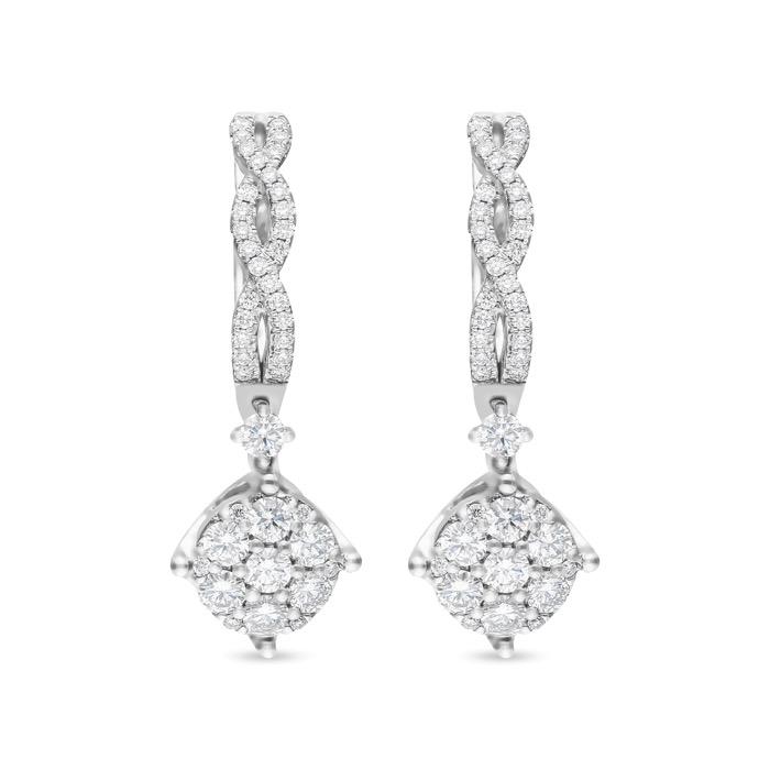 Diamond Earings JDE8019