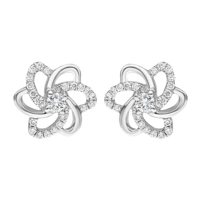 Diamond Earrings DEF0018