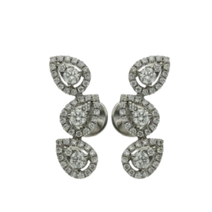 Diamond Earrings DEF0021