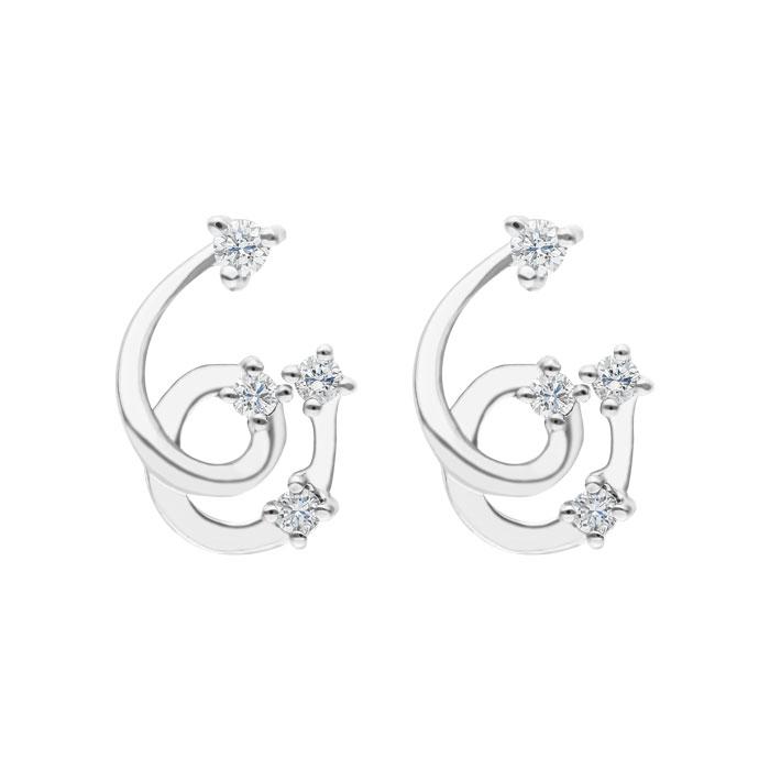 Diamond Earrings DEF0117