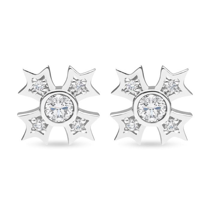 Diamond Earrings DESS0086