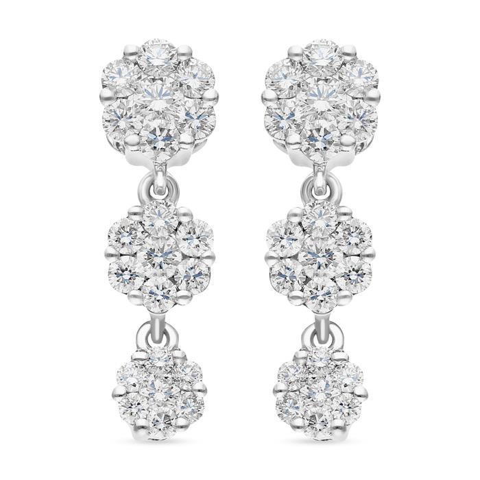 Diamond Earrings DPF0051