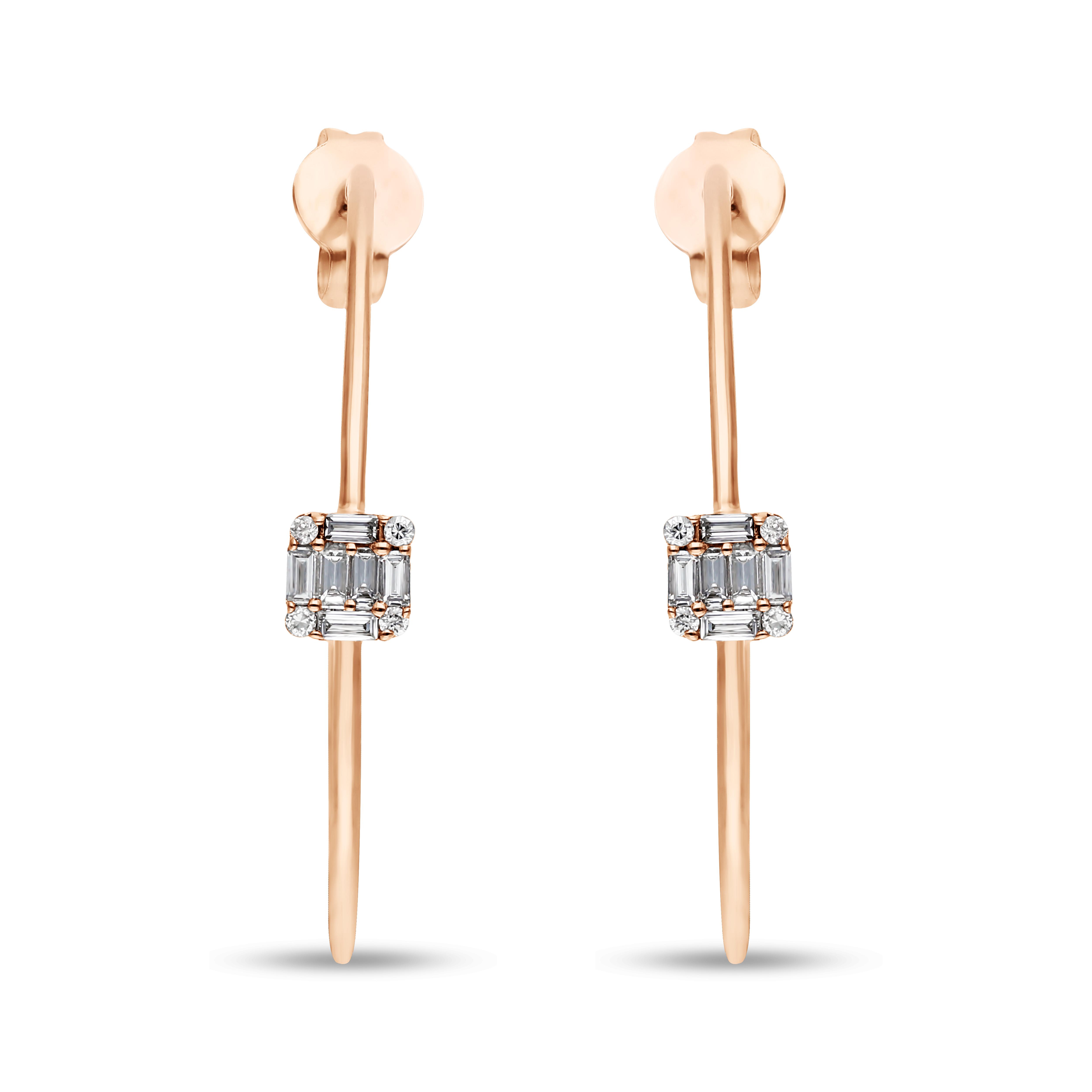 Diamond Earrings JBE-61286-1