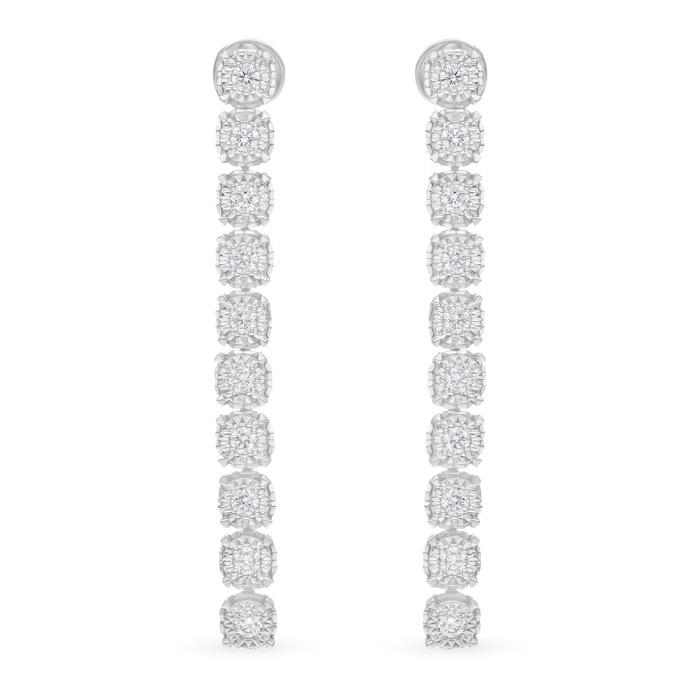 Diamond Earrings JNC-JDP8082E