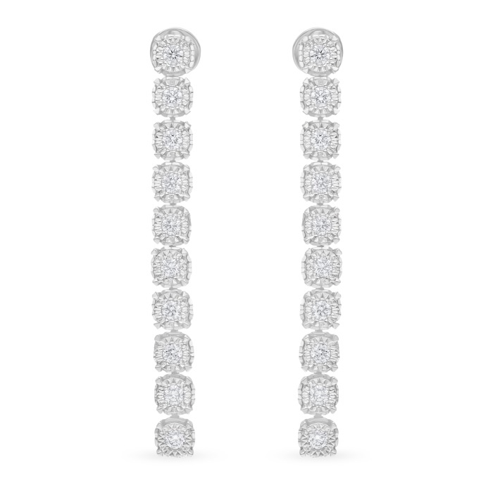 Diamond Earrings JNC-JDP8082E