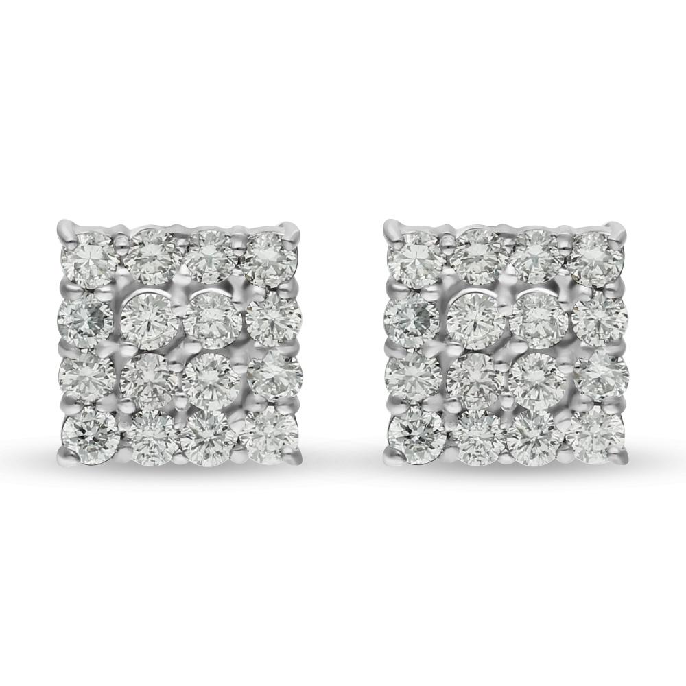 Diamond Earrings P14870B