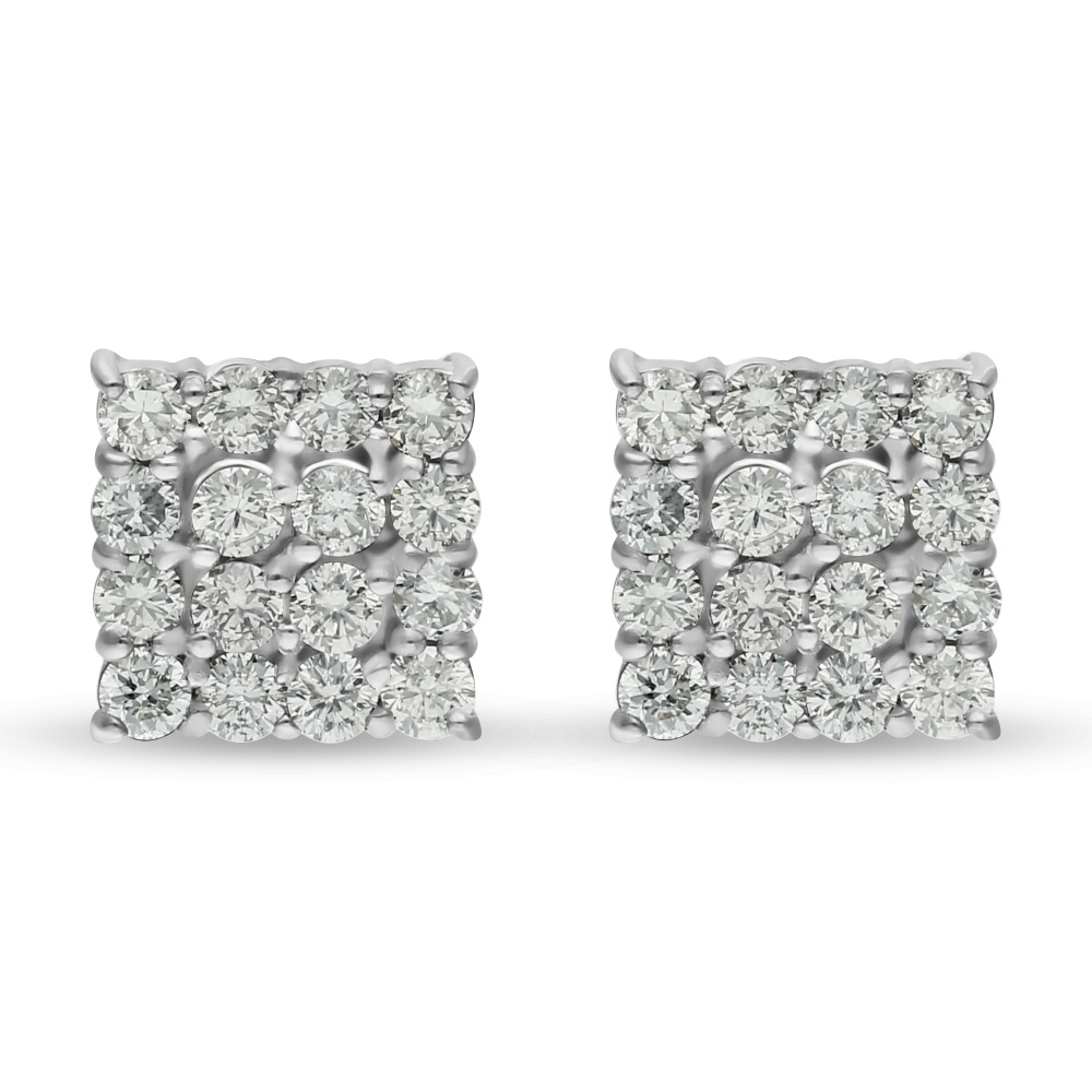 Diamond Earrings P14870B