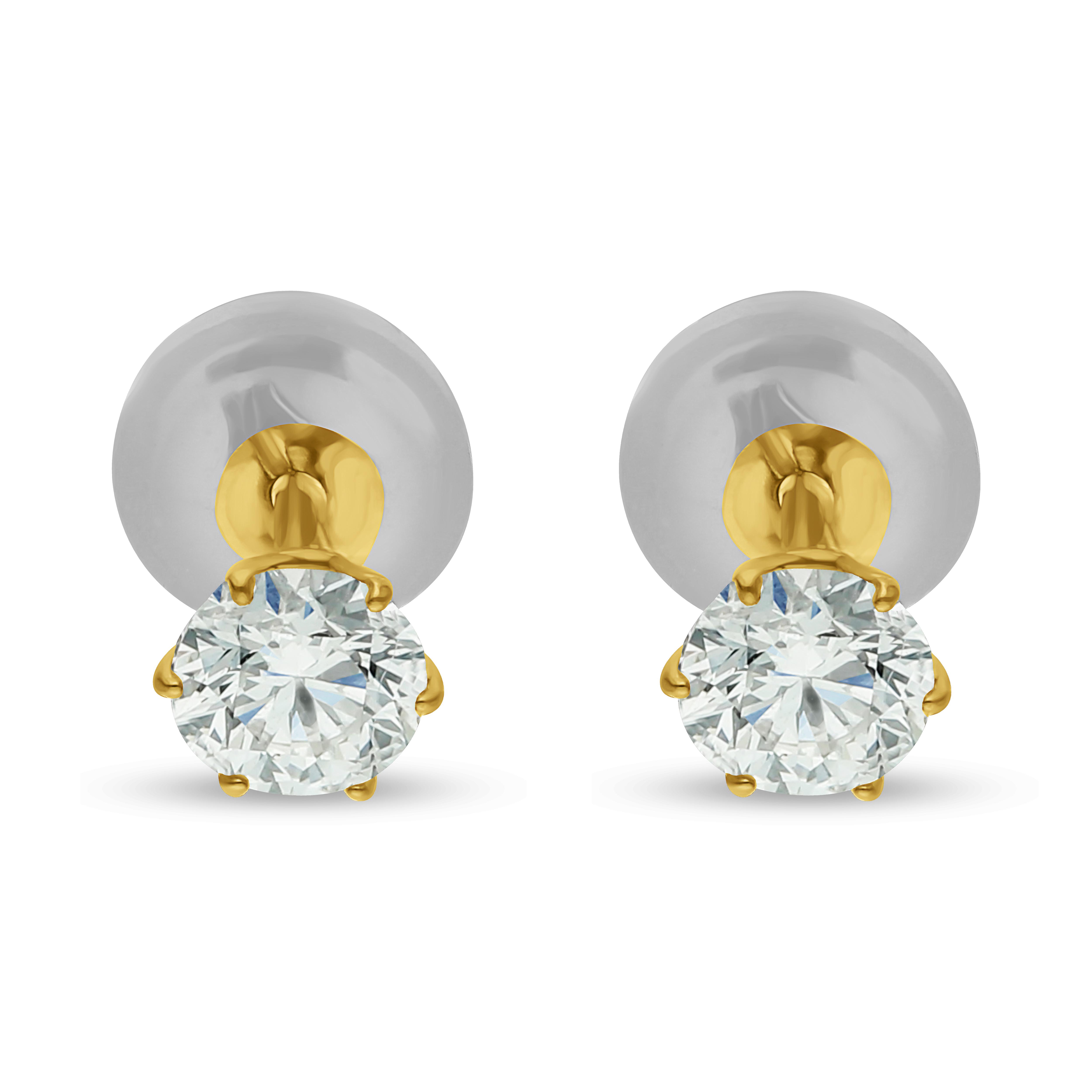 Diamond Earrings P7844B
