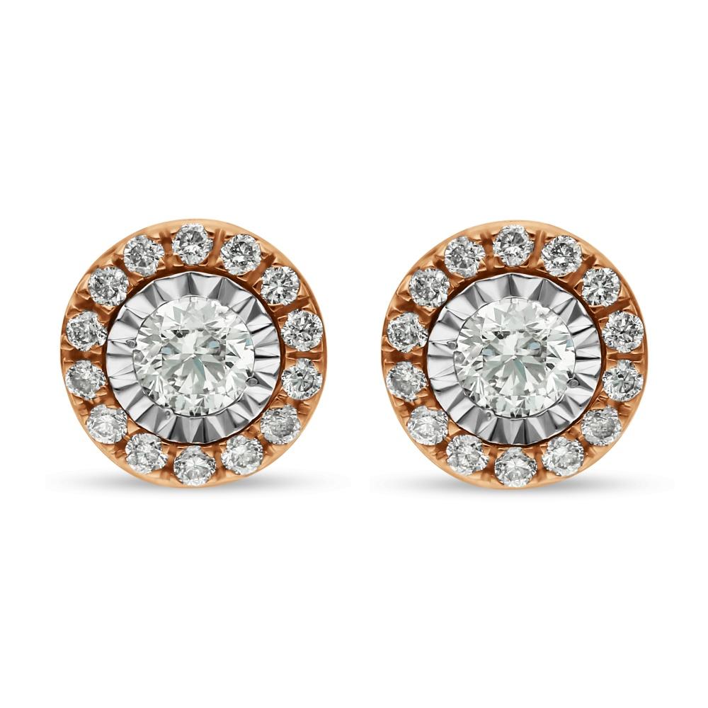 Diamond Earrings SE1D-0718x