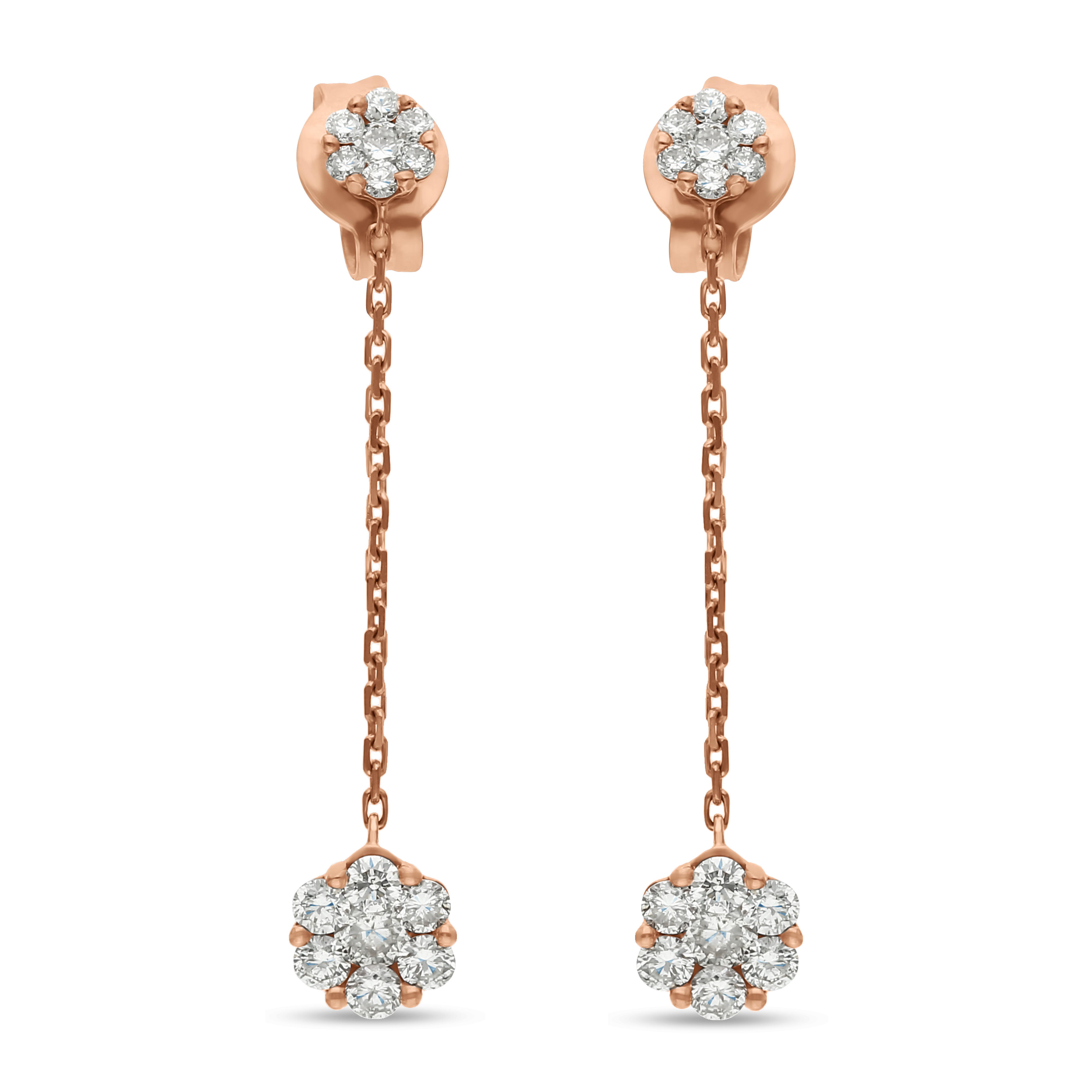 Diamond Earrings SE1D-0806