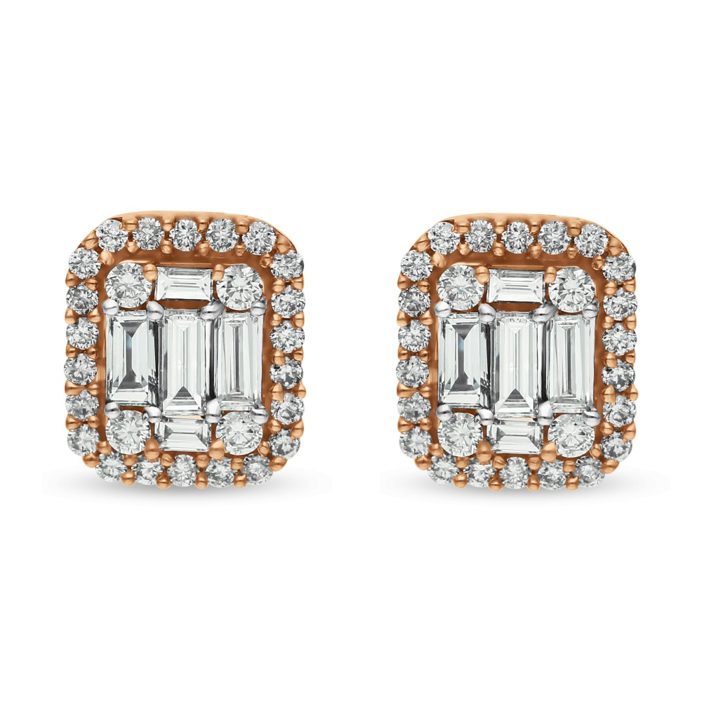 Diamond Earrings SE1D-0814