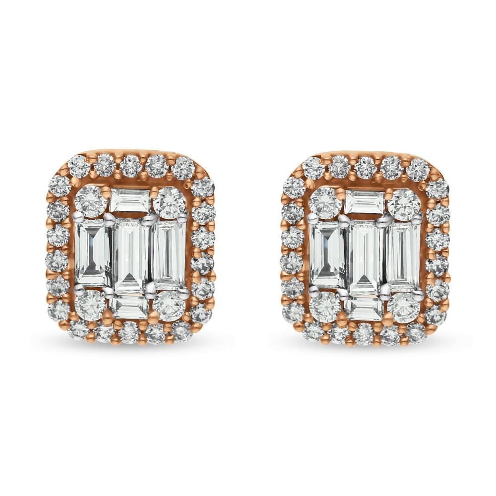 Diamond Earrings SE1D-0814