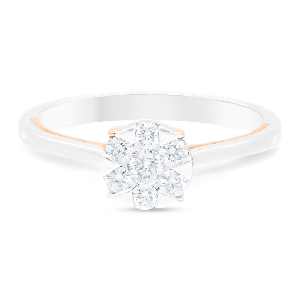 DIAMOND LADIES RING  DCWF1096