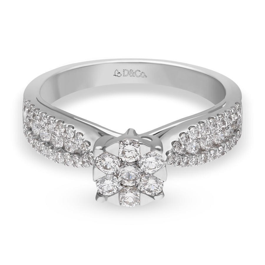 DIAMOND LADIES RING  DCWF1199