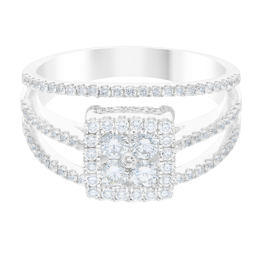 DIAMOND LADIES RING  DCWF1207