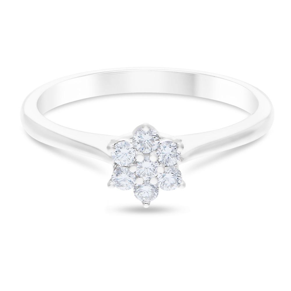 DIAMOND LADIES RING  DCWF1258