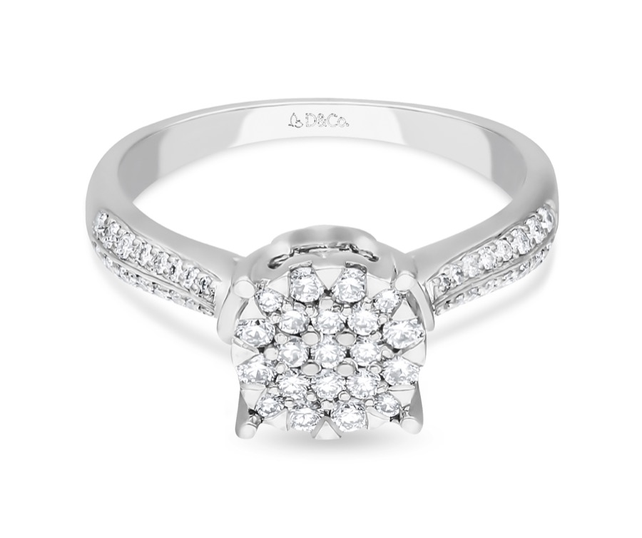 DIAMOND LADIES RING  DCWF1261