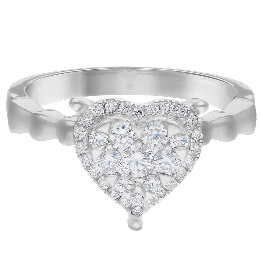 DIAMOND LADIES RING  DCWF1269