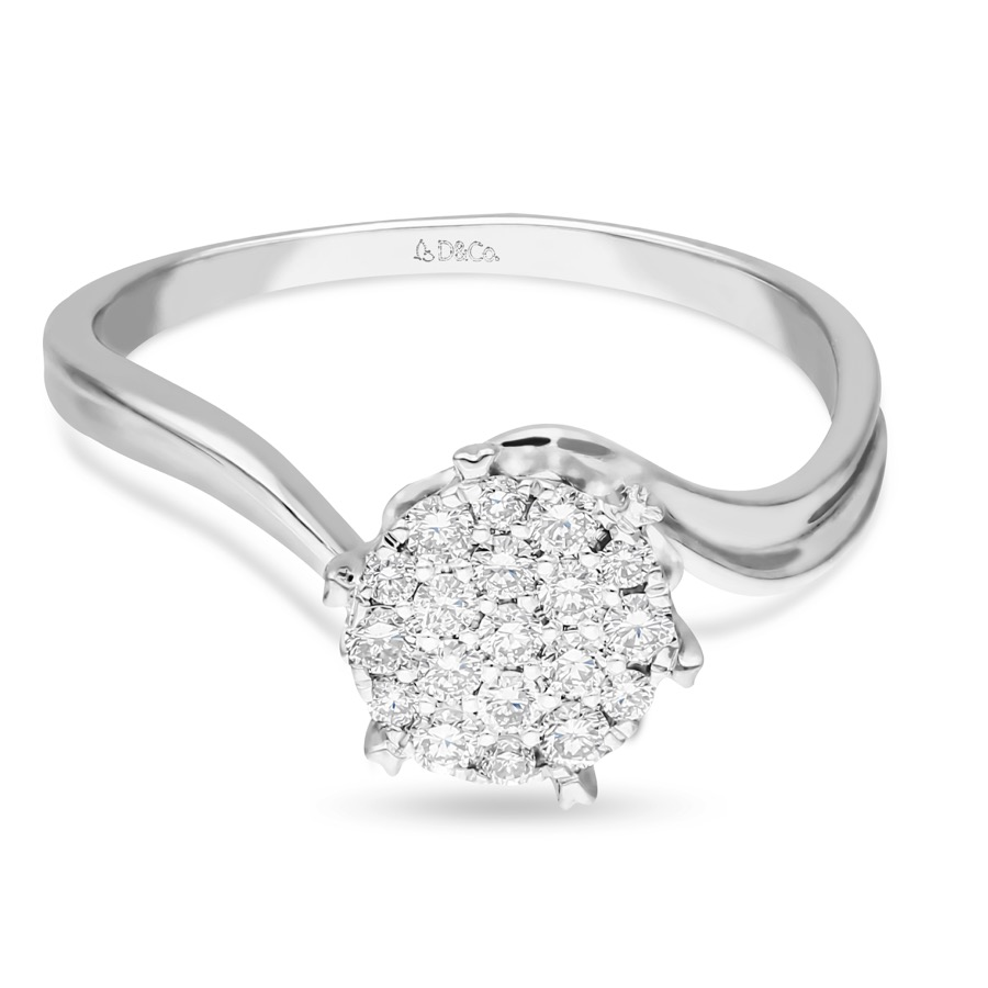 Diamond Ladies Ring DCWF0725