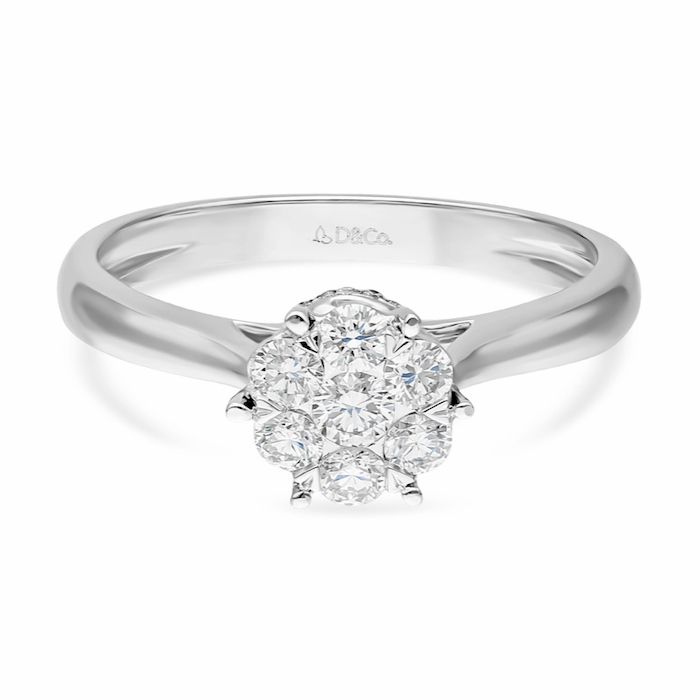 Diamond Ladies Ring DCWF0731