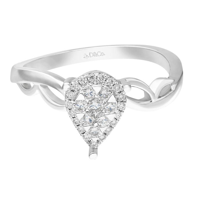 Diamond Ladies Ring DCWF0788