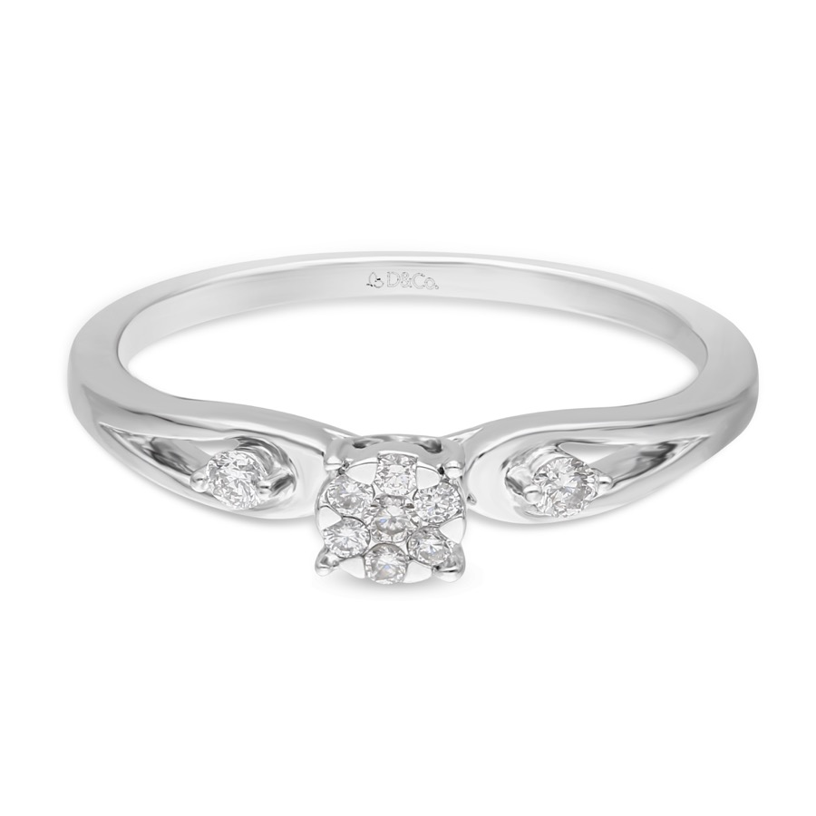 DIAMOND LADIES RING DCWF0792