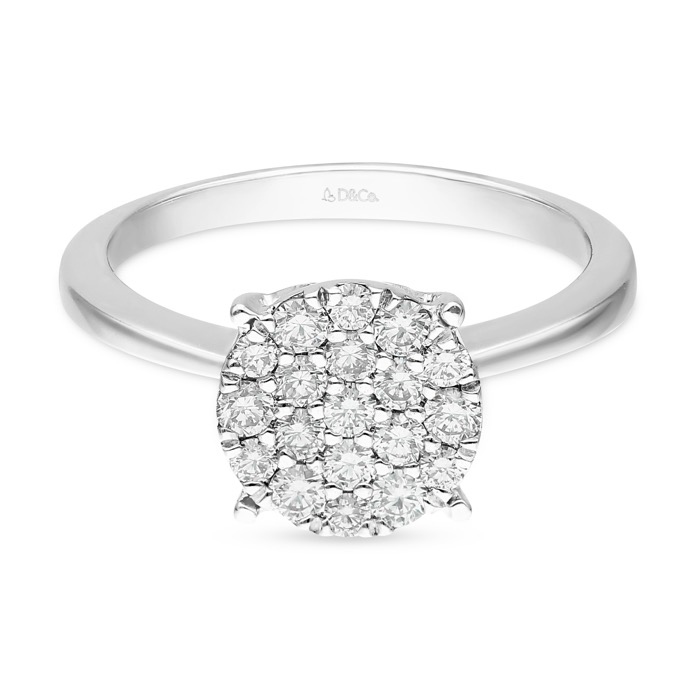 DIAMOND LADIES RING DCWF0884