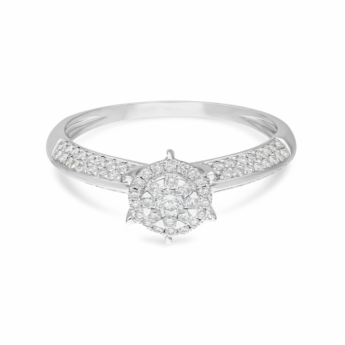 Diamond Ladies Ring DCWF0943