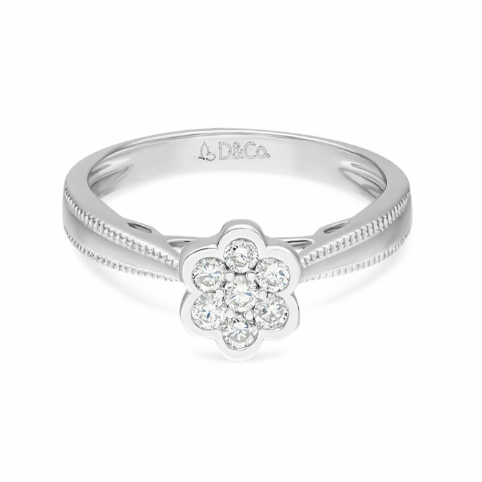 Diamond Ladies Ring DCWF1047