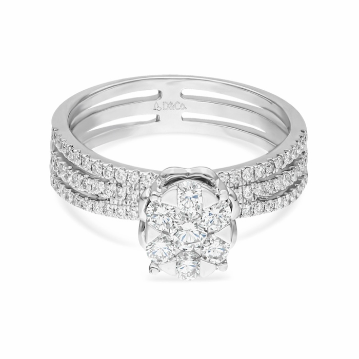 Diamond Ladies Ring DCWF1113