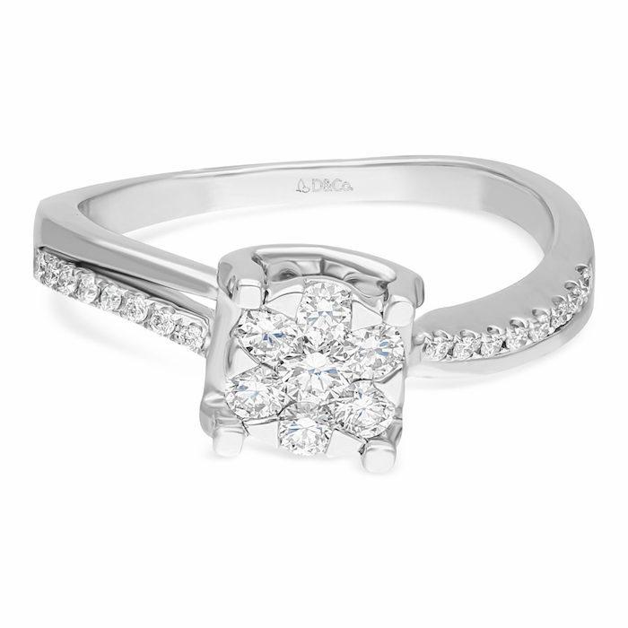 Diamond Ladies Ring DCWF1209