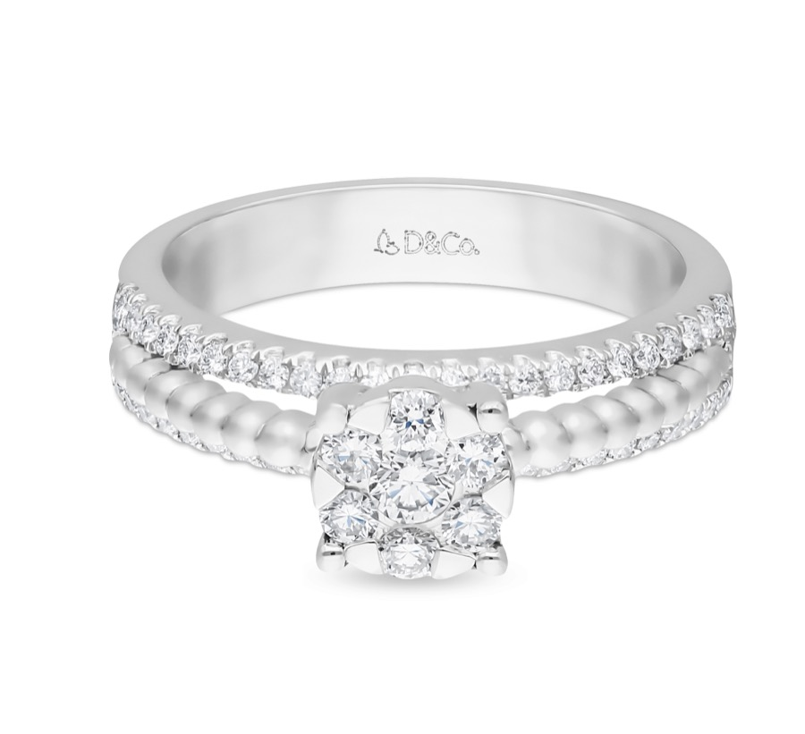Diamond Ladies Ring dcwf1334
