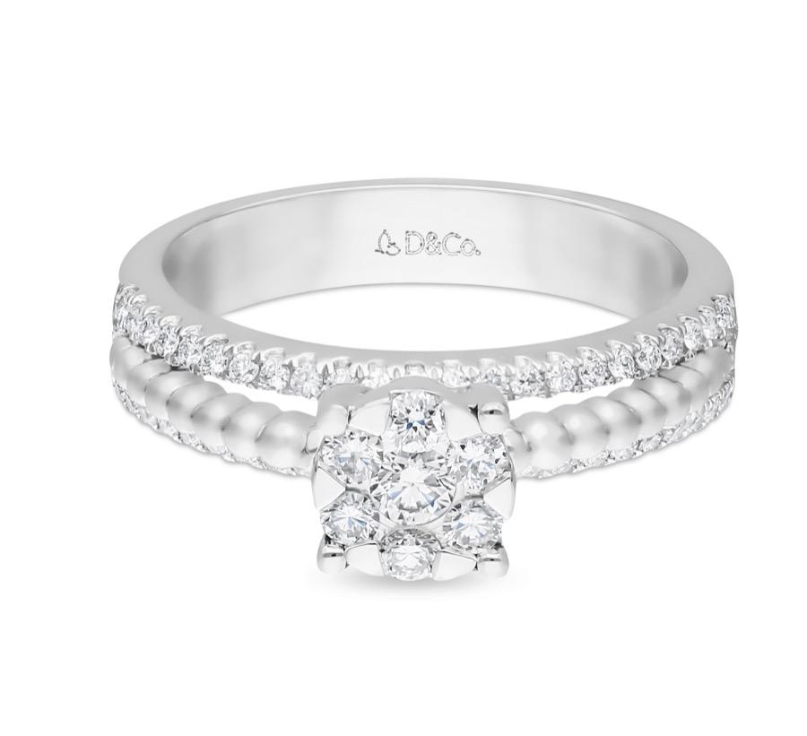 Diamond Ladies Ring dcwf1334