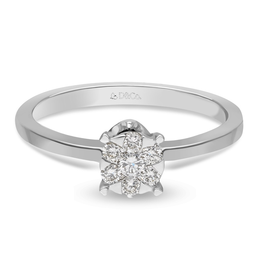 DIAMOND LADIES RING DCWF1643