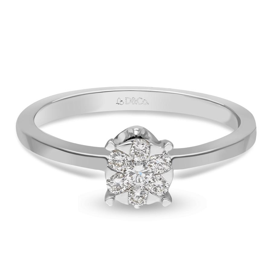 DIAMOND LADIES RING DCWF1643