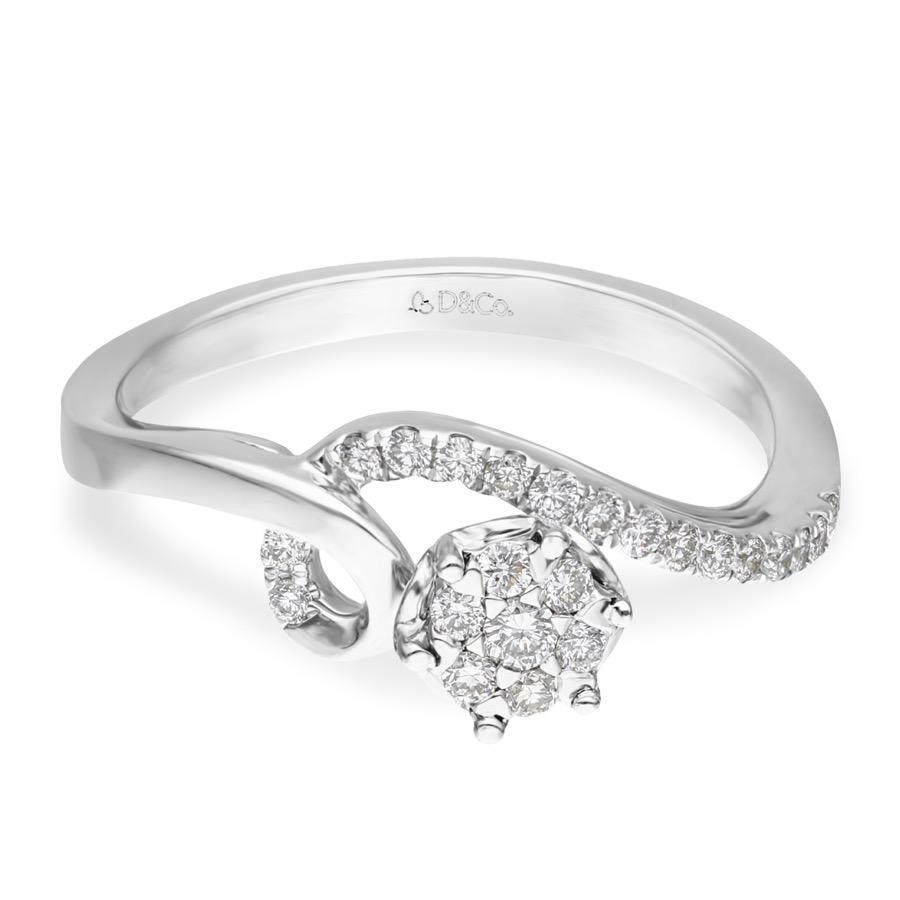 DIAMOND LADIES RING DCWF1688