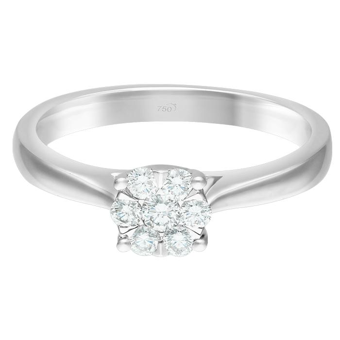Diamond Ladies Ring JNC-R17149-70