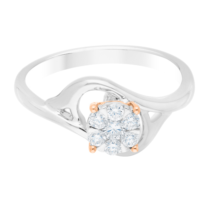 Diamond Ladies Ring JNC-R17155-70