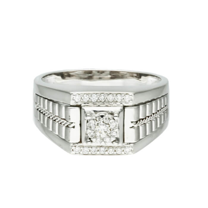 Diamond Mens Ring DCPF0152