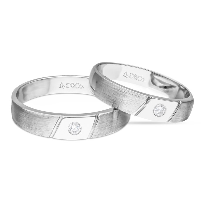 Diamond Wedding Ring DCKS0108B