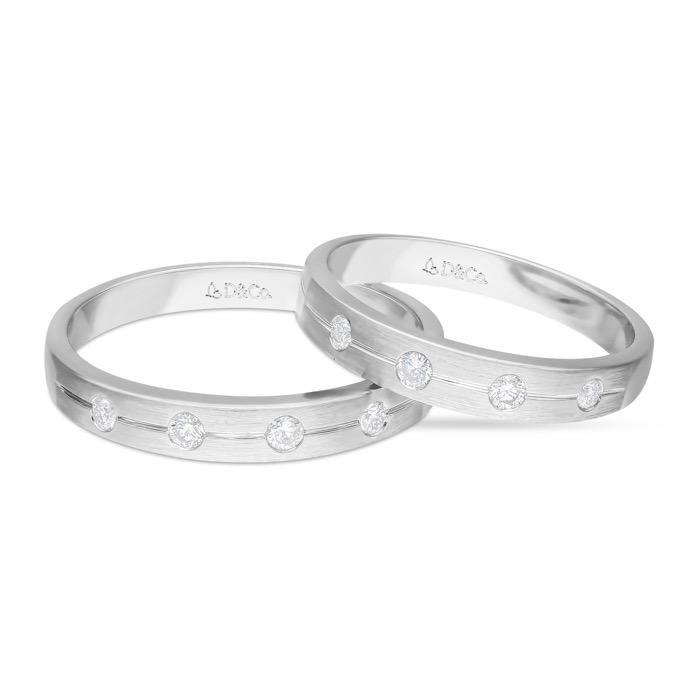 Diamond Wedding Ring DCKSS0023-1